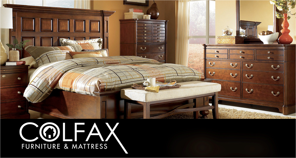 Colfax Furniture and Mattress<p>TV Production &#038; Placement, Digital &#038; Creative