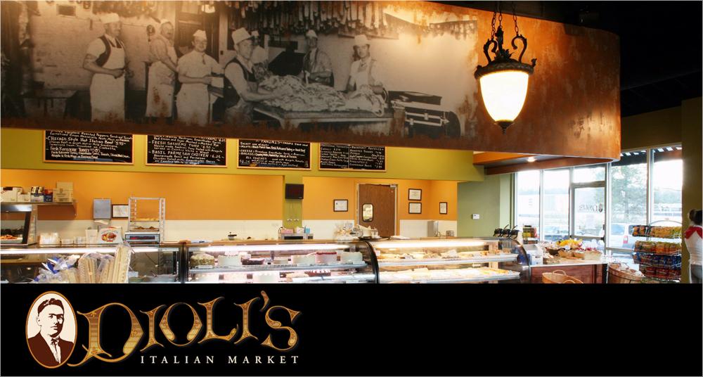 Diolis Italian Market<p>Branding &#038; Creative